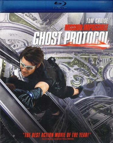 Mission: Impossible Ghost Protocol (Blu-ray) BLU-RAY Movie