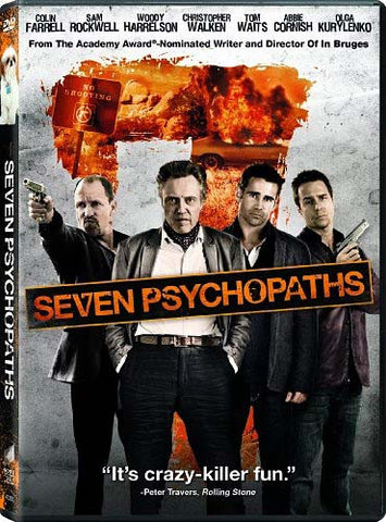 Seven Psychopaths DVD Movie