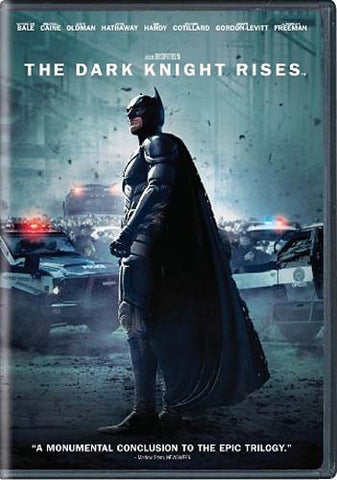 The Dark Knight Rises DVD Movie