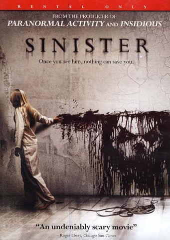 Sinister DVD Movie
