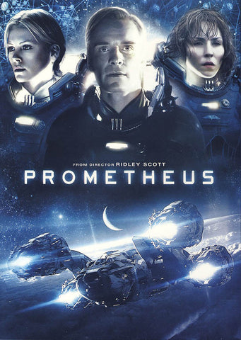 Prometheus DVD Movie