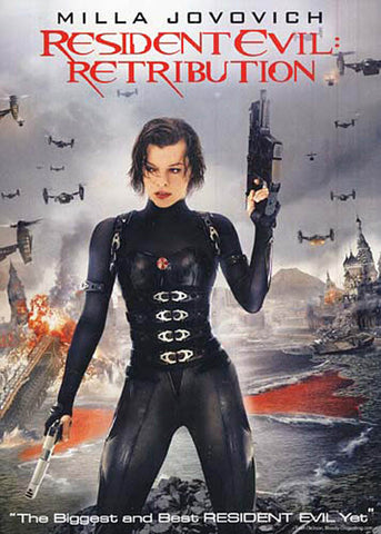 Resident Evil: Retribution DVD Movie