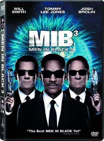 Men in Black 3 DVD Movie