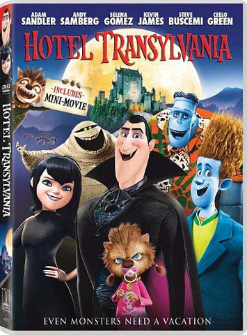 Hotel Transylvania DVD Movie