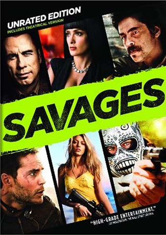 Savages (Unrated Edition) DVD Movie