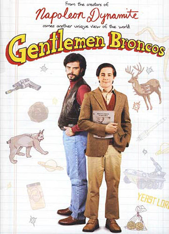 Gentlemen Broncos DVD Movie