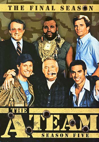 The A-Team - Season Five, The Final Season (Boxset) DVD Movie