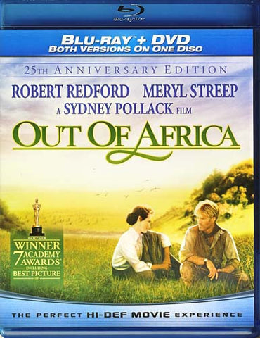 Out of Africa - 25th Anniversary (Blu-ray/DVD Combo) (Blu-ray) BLU-RAY Movie