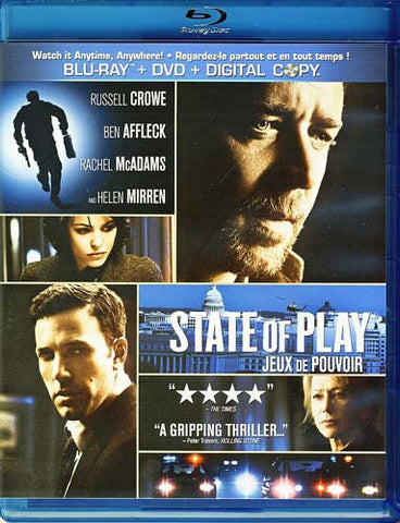 State of Play (Blu-ray + DVD) (Bilingual) (Blu-ray) BLU-RAY Movie