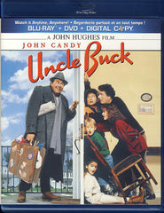 Uncle Buck (Blu-ray + DVD + Digital Copy) (Blu-ray)(Bilingual)