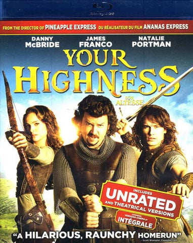 Your Highness (Unrated and Theatrical) (Bilingual) (Blu-ray) BLU-RAY Movie