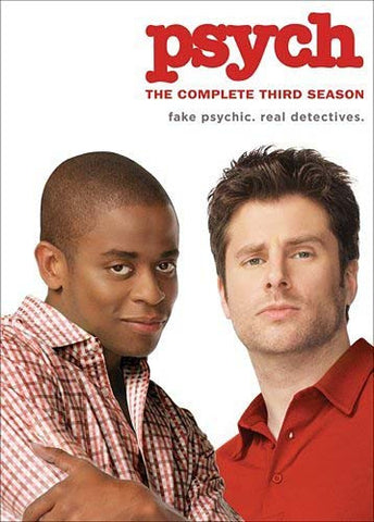 Psych: The Complete Third Season (Boxset) DVD Movie
