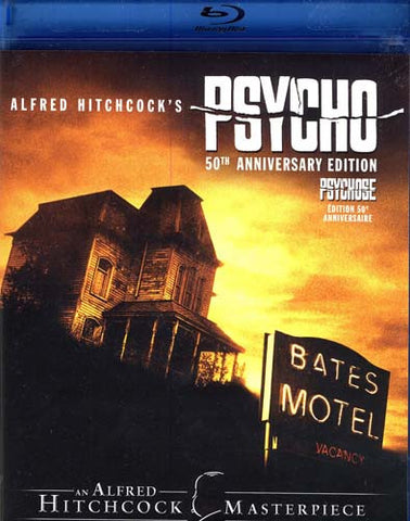 Psycho (50th Anniversary Edition) (Bilingual) (Blu-ray) BLU-RAY Movie
