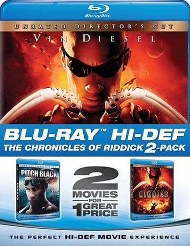Chronicles of Riddick & Pitch Black (Blu-ray) (Boxset) BLU-RAY Movie