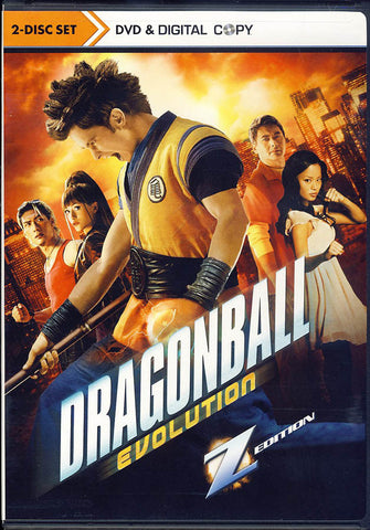 Dragonball Evolution Z Edition (2 Disc- Set DVD & Digital Copy) DVD Movie