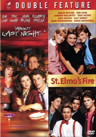 About Last Night & St Elmo's Fire (Double Feature) DVD Movie