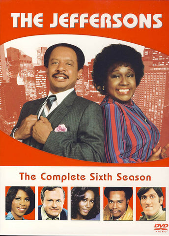 The Jeffersons - The Complete Sixth Season (Boxset) DVD Movie
