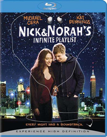 Nick & Norah's Infinite Playlist (+ BD Live) (Blu-ray) BLU-RAY Movie