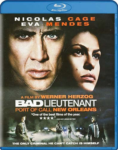 Bad Lieutenant - Port of Call New Orleans (Blu-ray) BLU-RAY Movie