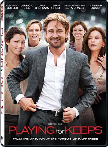 Playing for Keeps (Gerard Butler) DVD Movie
