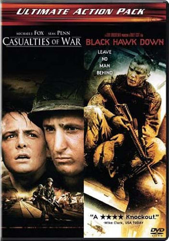 Casualties of War / Black Hawk Down DVD Movie