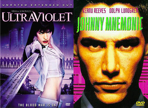 Ultraviolet (Unrated, Extended Cut) / Johnny Mnemonic (2 Pack) (Boxset) DVD Movie