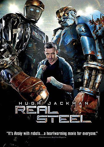 Real Steel DVD Movie