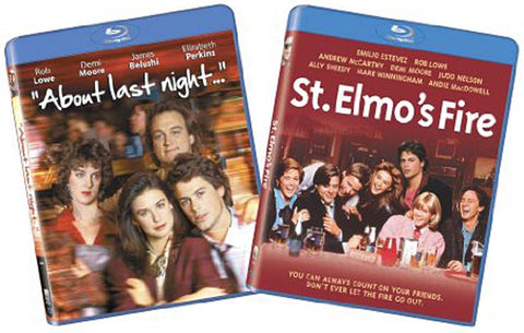 About Last Night / St Elmo's Fire (Blu-ray) 2pk BLU-RAY Movie