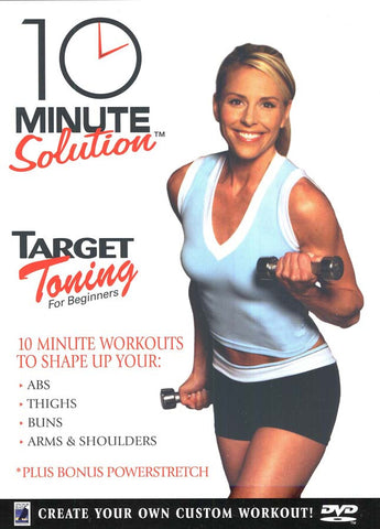 10 Minute Solution - Target Toning for Beginners DVD Movie