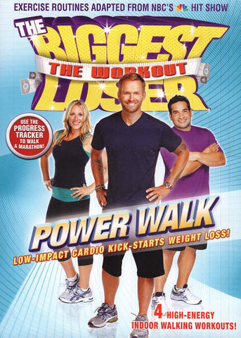 The Biggest Loser - The Workout - Power Walk (LG) DVD Movie