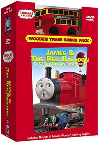 Thomas and Friends: James and the Red Balloon (With Toy Train) (Boxset) DVD Movie