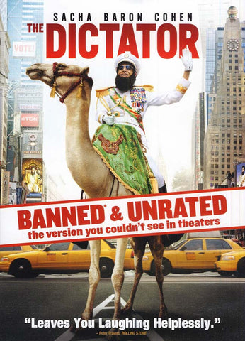 The Dictator - BANNED & UNRATED Version DVD Movie