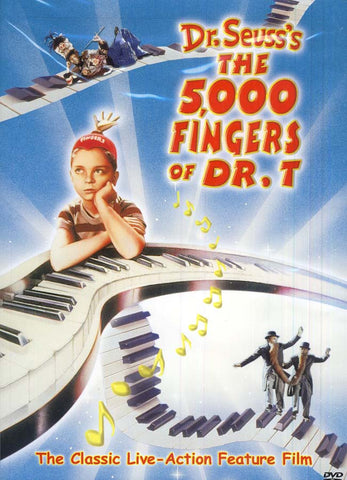 Dr. Seuss's The 5,000 Fingers of Dr. T DVD Movie