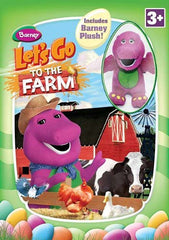 Barney: Let's Go to the Farm (With Barney Plush) (Boxset)