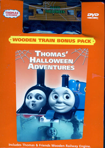 Thomas and Friends - Thomas' Halloween Adventures (with Toy) (Boxset) DVD Movie