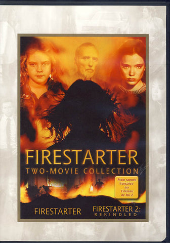 Firestarter Two Movie Collection (Bilingual) DVD Movie