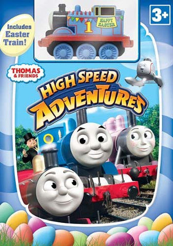 Thomas and Friends: High Speed Adventures (With Easter Toy Train) (Boxset) DVD Movie