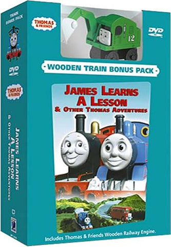 Thomas & Friends - James Learns A Lesson (With Toy Train) (Boxset) DVD Movie