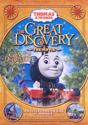 Thomas And Friends - The Great Discovery - The Movie (Bilingual) DVD Movie