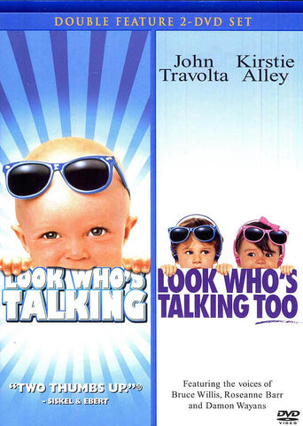 Look Who s Talking / Look Who s Talking Too (Double Feature) DVD Movie