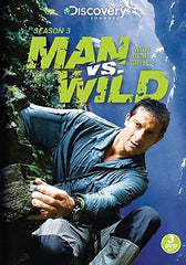 Man vs Wild - Season Three (3) (Boxset)