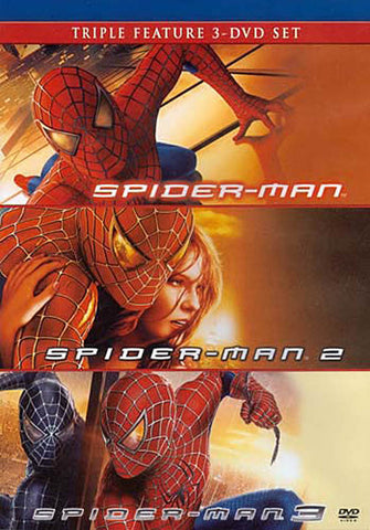 Spider-Man / Spider-Man 2 / Spider-Man 3 (Triple Feature) DVD Movie
