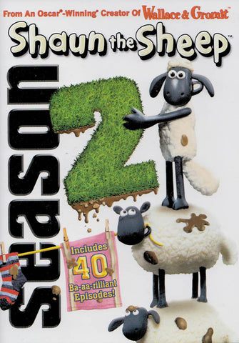 Shaun the Sheep - Season 2 (ALL) DVD Movie