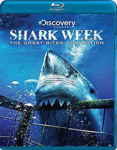Shark Week - The Great Bites Collection (Blu-ray) BLU-RAY Movie