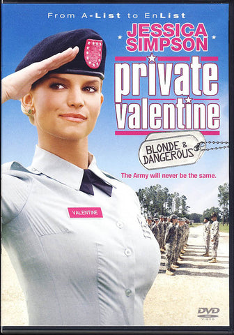 Private Valentine - Blonde & Dangerous DVD Movie