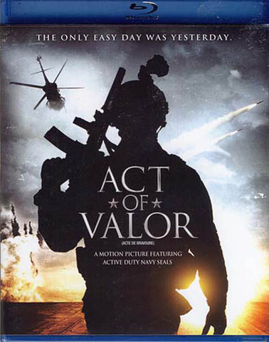 Act of Valor (bilingual)(Blu-ray) BLU-RAY Movie