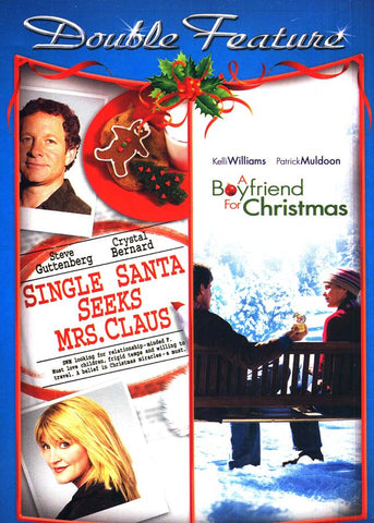Single Santa Seeks Mrs. Claus/A Boyfriend for Christmas (Double Feature) DVD Movie