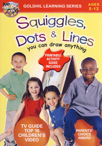 Squiggles, Dots and Lines DVD Movie