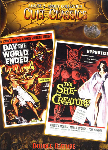 Day The World Ended/The She Creature DVD Movie