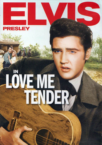Love Me Tender (Elvis Presley) (Red Spine) DVD Movie